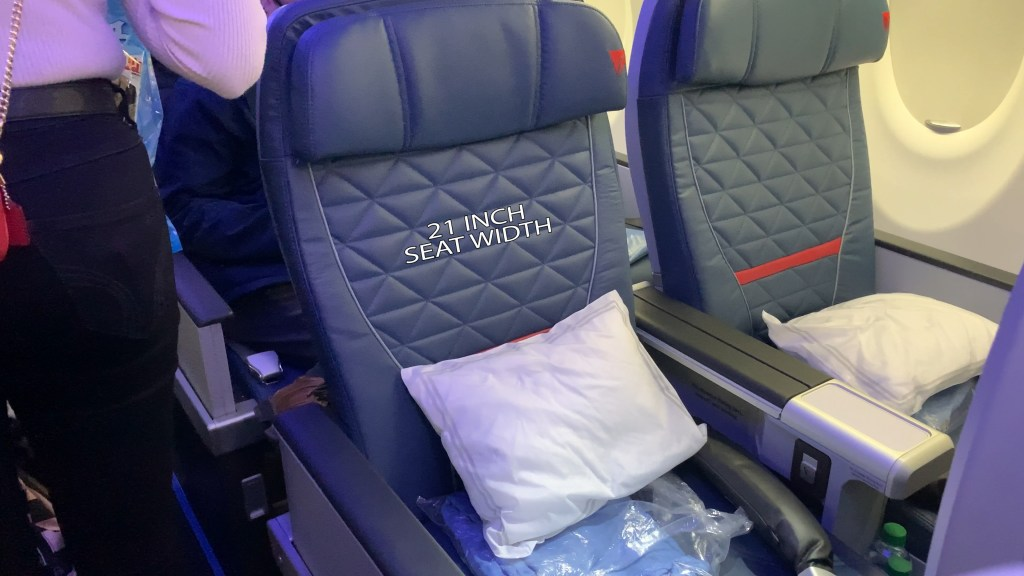 Delta Airlines A220 First Class Seat