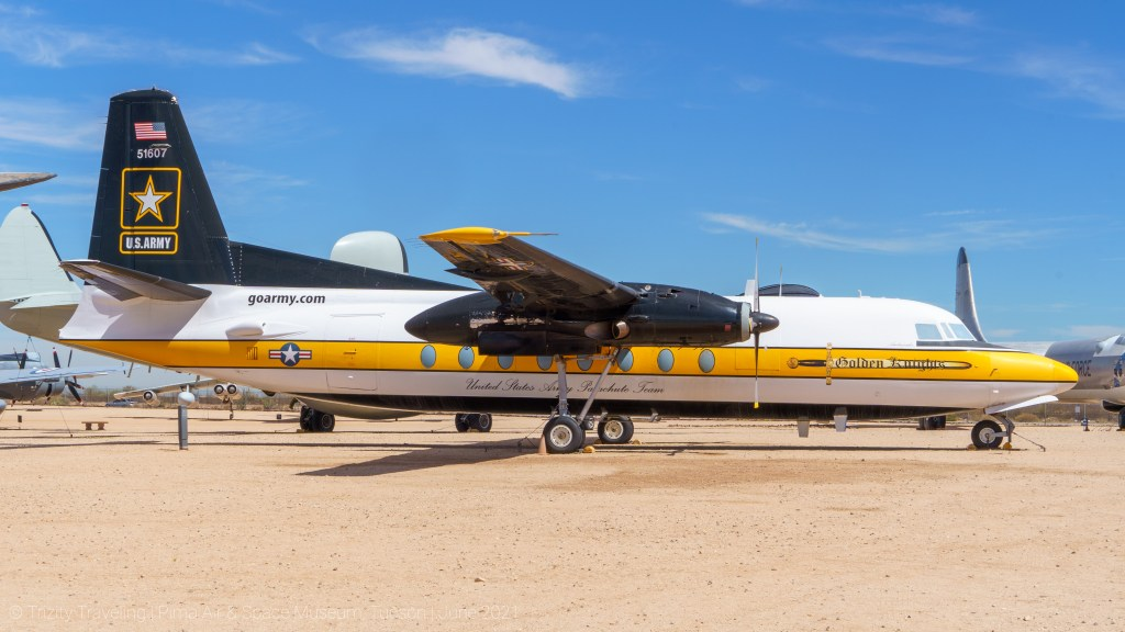 US Army Golden Knights jump team aircraft