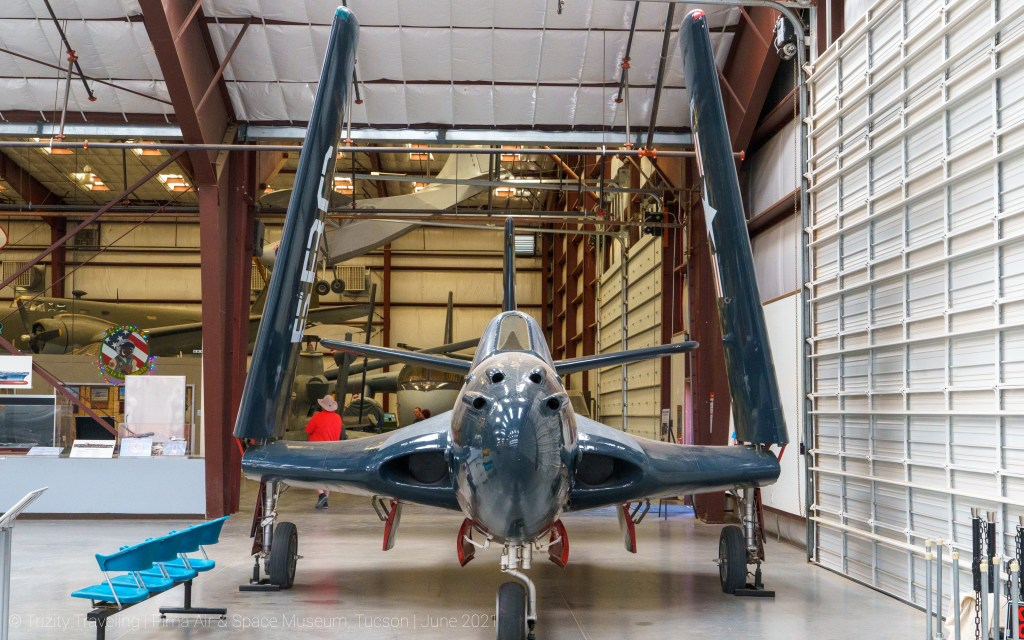 Head on with a FH-1 Phantom 1
