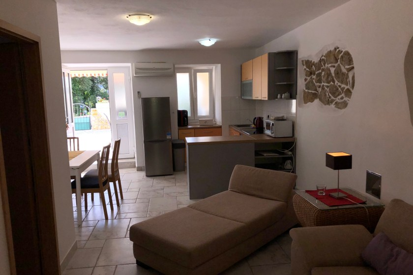 Living & dining room, kitchen