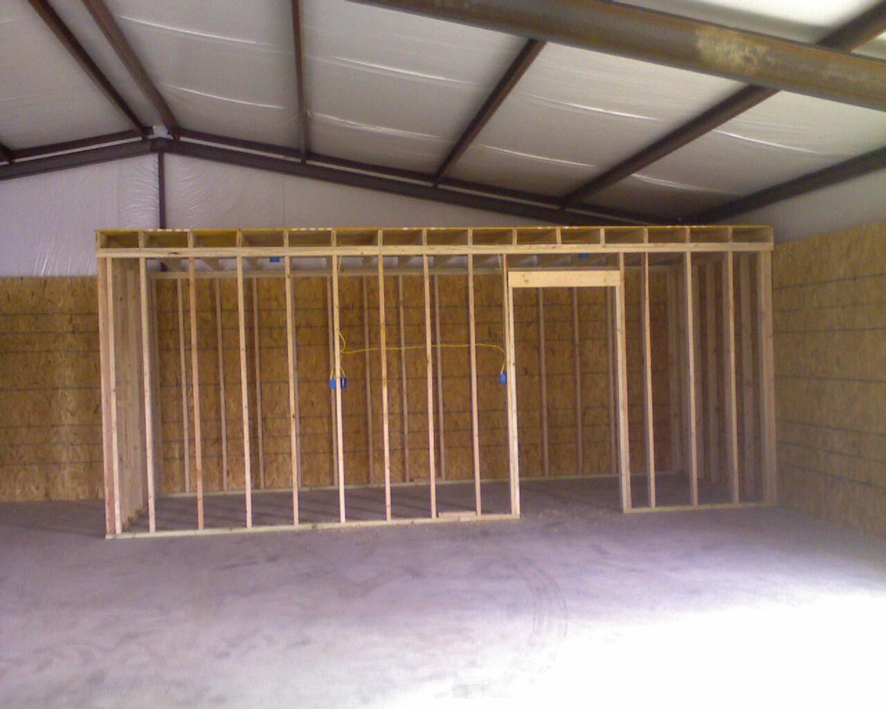 Framing Walls Inside Metal Building Framesite Co