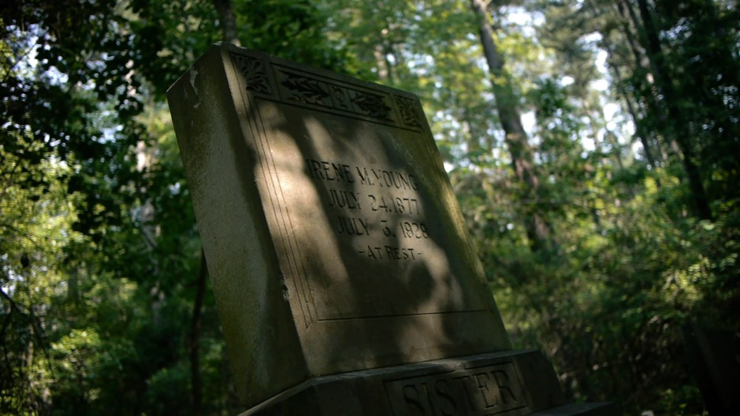 The Grave of Irene Young