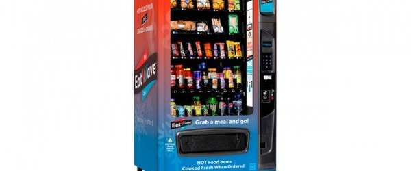 Microwave Equipped Vending Machine