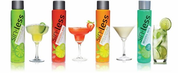 Product Review: Sinless Low Calorie Cocktail Mixers