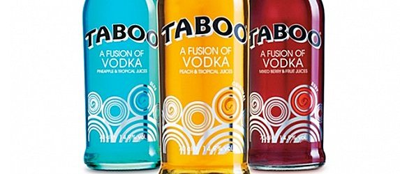 Packaging Redesign: Taboo Vodka Fusion