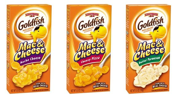 Flavor Spotlight: Goldfish Cracker Flavored Mac & Cheese