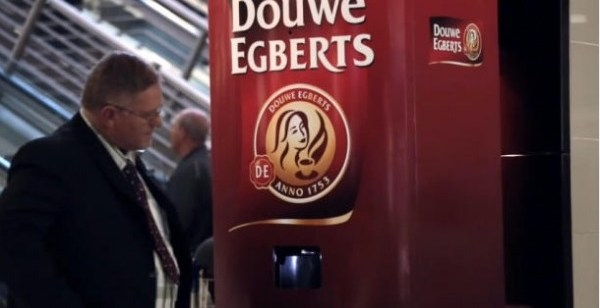 Coffee Vending Machine in South Africa Only Accepts Yawns