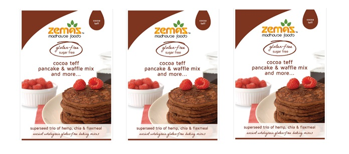 Food Spotlight: Zema Cocoa Teff Pancake & Waffle Mix And More