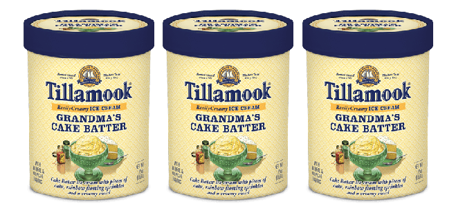 Ice Cream Spotlight: Tillamook Grandma's Cake Batter Ice Cream