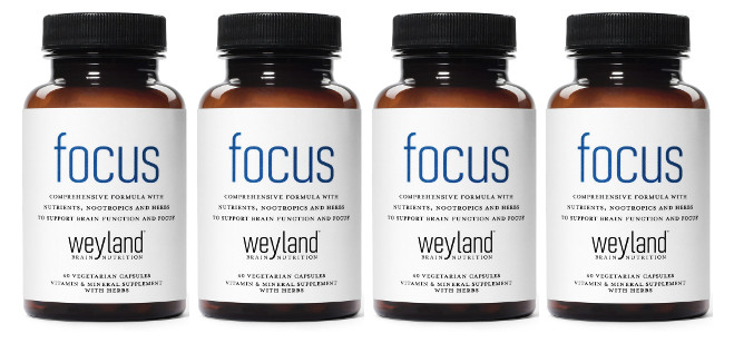Supplement Spotlight: Weyland: Focus – Focus Support Supplement with Vitamins, Minerals, Herbs and Nootropics
