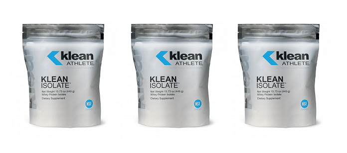 Supplement Spotlight:  Klean Athlete Klean Isolate