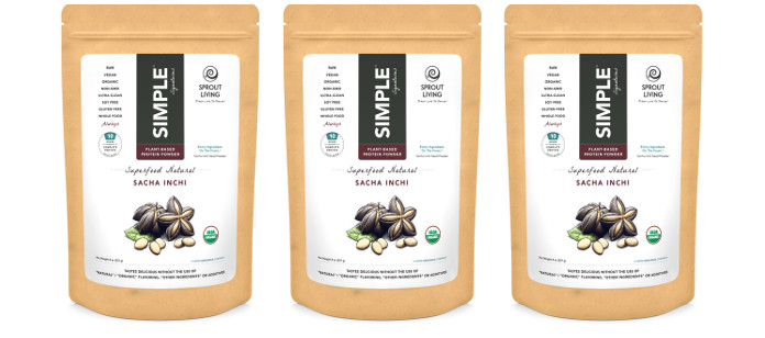 Supplement Spotlight: Sprout Living Simple Signatures Superfood Natural Sacha Inchi Protein Powder