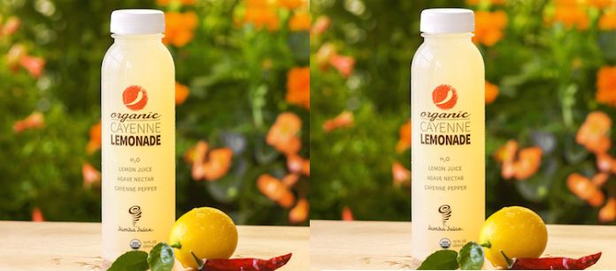 Drink Spotlight: Jamba Juice Cold Pressed Juices Organic Cayenne Lemonade