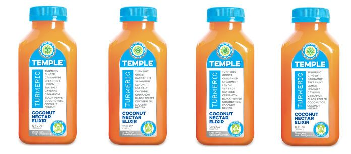 Drink Spotlight: Temple Turmeric Coconut Nectar
