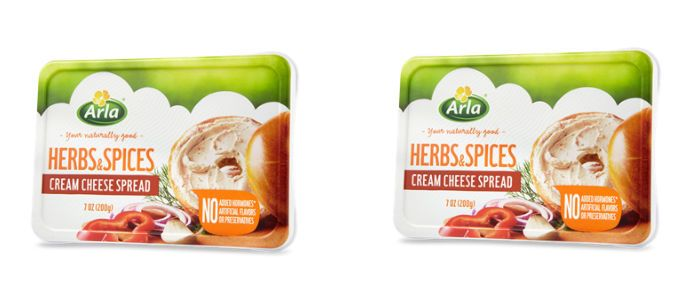 Dairy Spotlight: Arla Herbs & Spices Cream Cheese