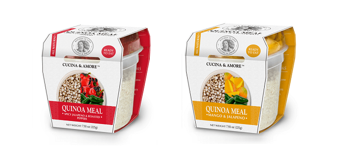 Food Spotlight: Cucina & Amore Quinoa Meals