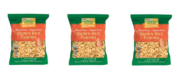Food Spotlight: Field Day Organic Brown Rice Elbow Pasta