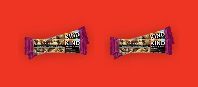 Bar Spotlight: Kind Raspberry Cashew & Chia
