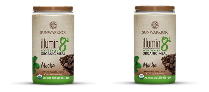 Supplement Spotlight: Sunwarrior Ilumini8 Plant Based Organic Meal