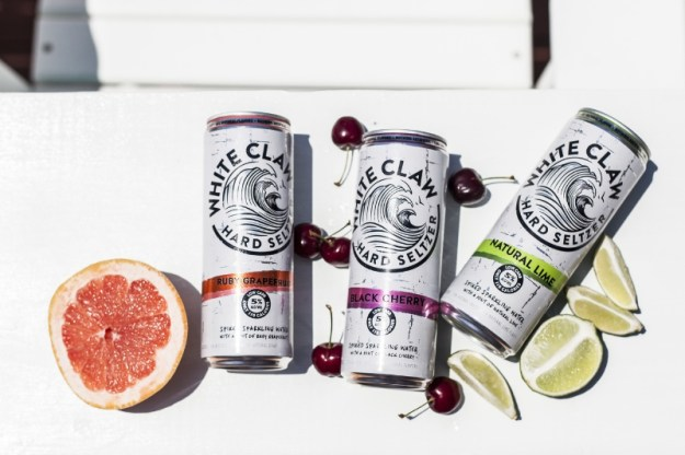Just in time for summer, White Claw Hard Seltzer is the perfect drink for those that like to have good, clean fun and live an active lifestyle. It brings the simplicity that is seltzer water, along with a spike of alcohol and a hint of natural fruit flavor, to create a refreshing seltzer low calorie seltzer drink with no artificial ingredients. (PRNewsFoto/White Claw Hard Seltzer)