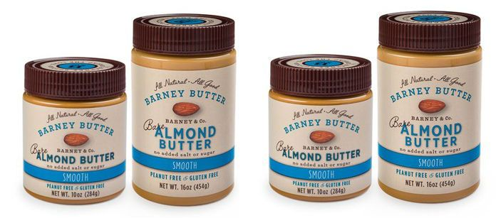 Food Spotlight: Barney Bare Smooth Almond Butter