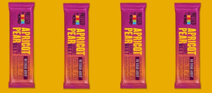 Snack Spotlight: Kind Pressed Apricot Pear Carrot Beet Bar