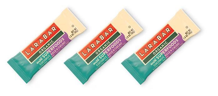 Snack Spotlight: Lara Bar Organic with Superfoods Coconut, Kale & Cacao
