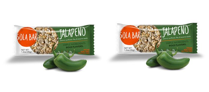 Snack Spotlight: Sola Snacks Jalapeno Bar