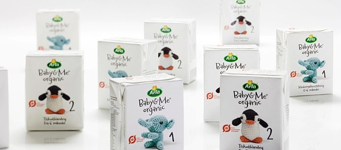 Packaging Spotlight: Arla Baby & Me Organic