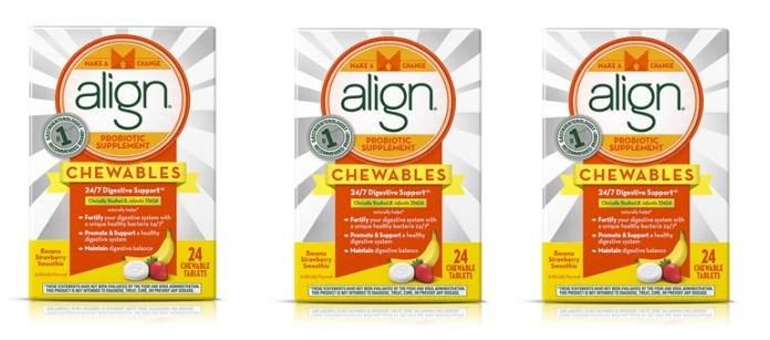 Supplement Spotlight: Align Probiotic Supplement Chewables for Adults