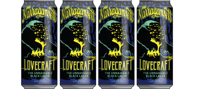 Beer Spotlight: Narragansett Lovecraft The Unnamable Black Lager