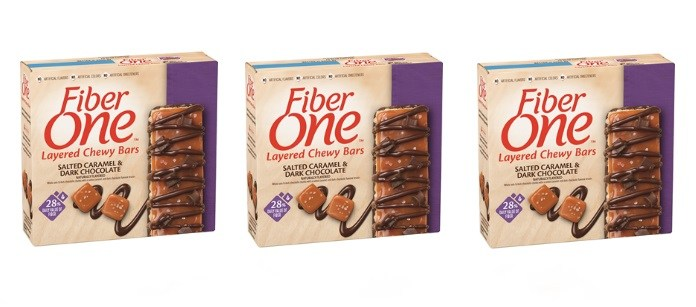 Snack Spotlight: Fiber One Salted Caramel & Dark Chocolate Layered Chewy Bars
