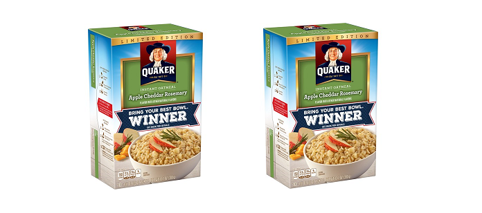 Industry News: Apple Cheddar Rosemary Wins Quaker's 'Bring Your Best Bowl' Contest