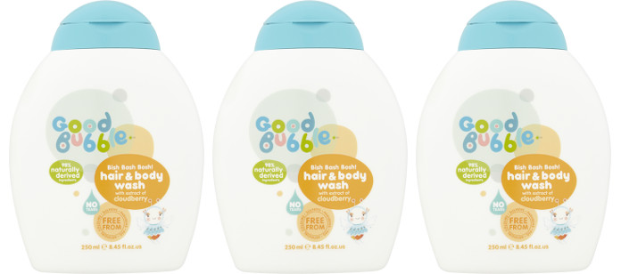 Kids Spotlight: Good Bubble Bish Bash Bosh! Hair & Body Wash with Cloudberry Extract