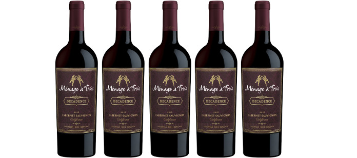 Wine Spotlight: Provocative Wine Brand Launches Ménage à Trois Decadence