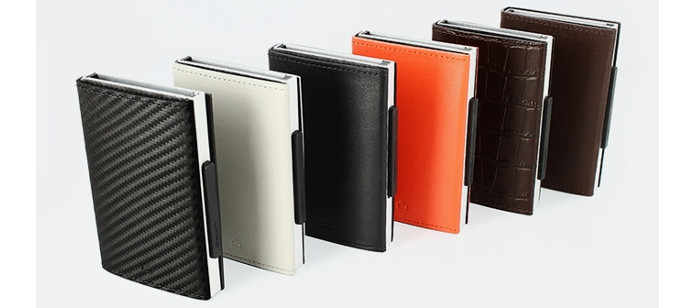 Crowdfunding Spotlight: CASCADE LEATHER WALLET : Pay fast with style!