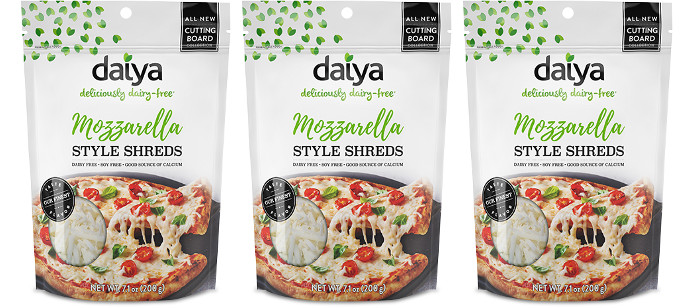 Food Spotlight: Daiya Mozzarella Cutting Board Shreds
