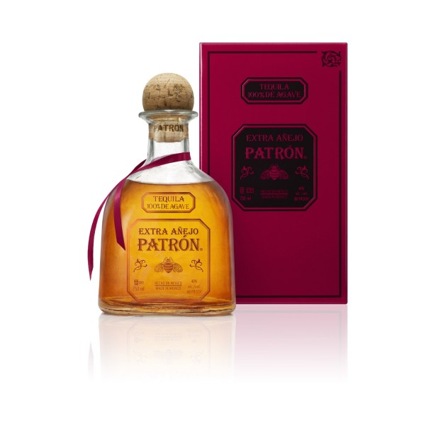 Patrón Extra Añejo is the first new addition to Patrón's core range of tequilas in 25 years (PRNewsfoto/Patrón Tequila)