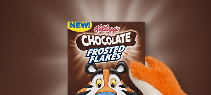 Cereal Spotlight: Kellogg's® Reaches New Level Of Gr-r-reatness With Chocolate Frosted Flakes
