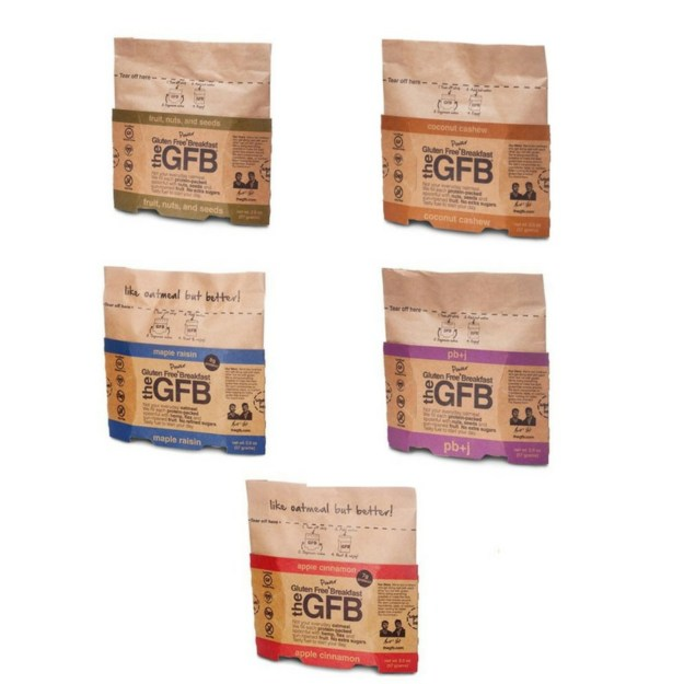 The Gluten Free Bar Puts Delicious Spin on Traditional Oatmeal with New Power Breakfast (PRNewsfoto/The Gluten Free Bar (GFB))