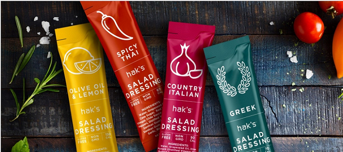 Food Spotlight: Hak's Debuts Refrigerated, Single Use, Clean Ingredient Salad Dressings