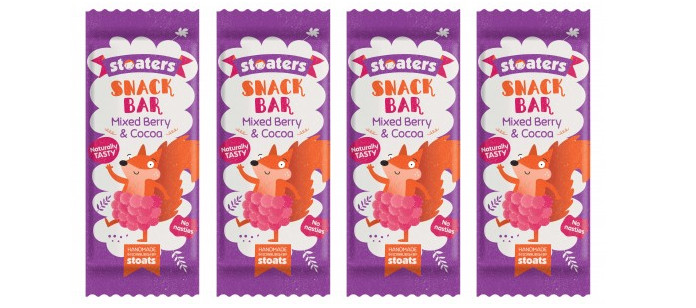 Snack Spotlight: Stoaters Mixed Berry & Cocoa Snack Bar
