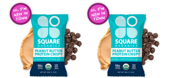 Snack Spotlight: Square Organics Dark Chocolate Chip Crispy