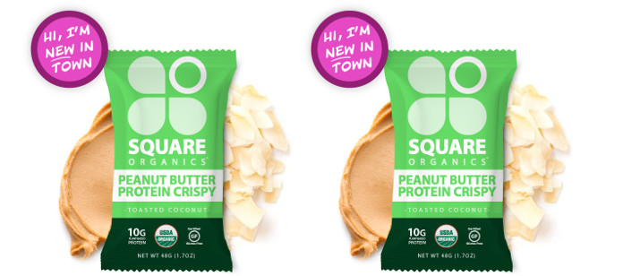 Snack Spotlight: Square Organics Toasted Coconut Crispy
