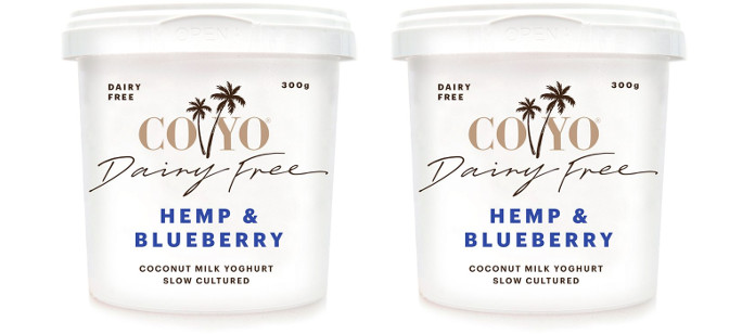 Yougurt Spotlight: COYO Hemp & Blueberry Coconut Milk Yoghurt
