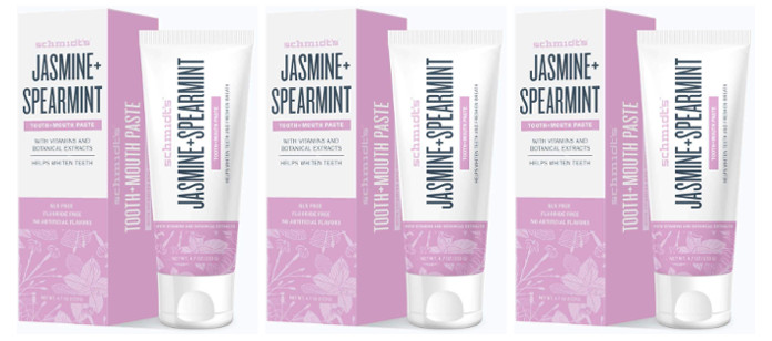 Oral Care Spotlight: Schmidt's Naturals Jasmine + Spearmint Tooth+Mouth Paste
