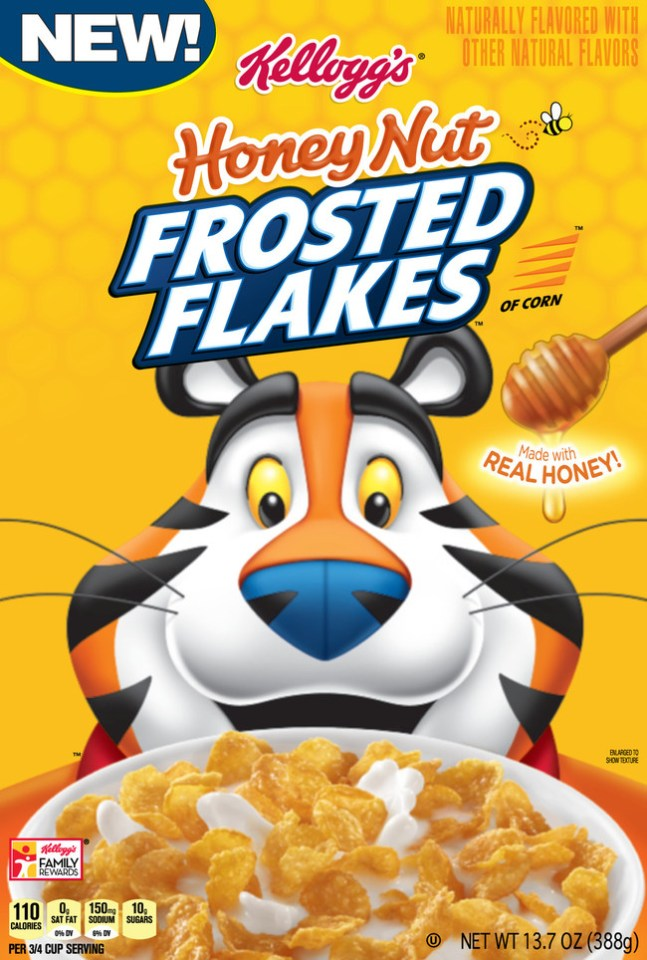 Calling all Kellogg's Frosted Flakes® lovers! This January, fans will have one more way to enjoy the iconic cereal as new Kellogg's® Honey Nut Frosted Flakes™ lands on shelves nationwide.