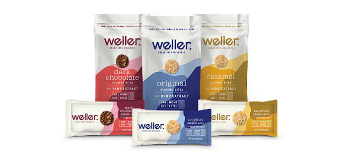 Snack Spotlight: Weller Launches with Its First CBD-Infused Snacks: Coconut Bites