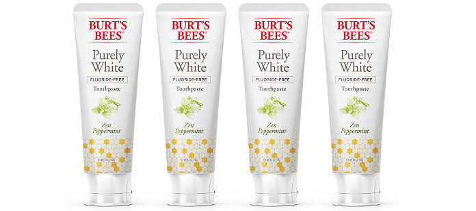 Oral Care Spotlight: Burt's Bees Purely White Zen Peppermint Toothpaste Fluoride-Free