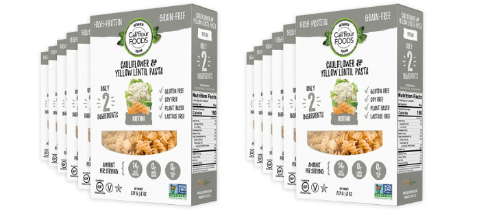 Pasta Spotlight: Cali'flour Foods Cauliflower & Yellow Lentil Pasta